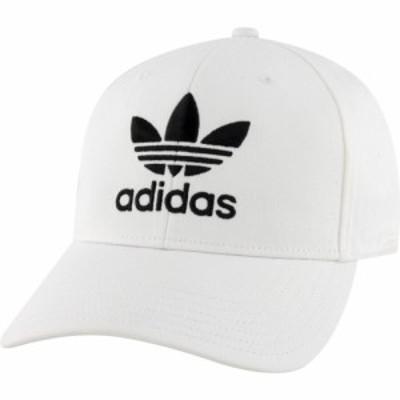 アディダス adidas Originals メンズ キャップ スナップバック 帽子 icon precurve snapback White/Black