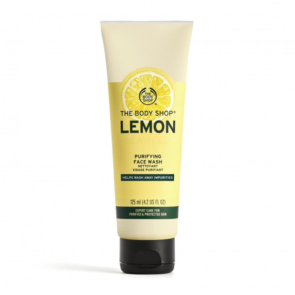 檸檬清新淨化潔面膠-125ML