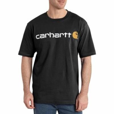 カーハート Carhartt メンズ Tシャツ トップス Logo T-Shirt Black