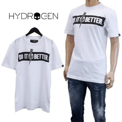 ハイドロゲン HYDROGEN Tシャツ 半袖 265610-001_WHITE