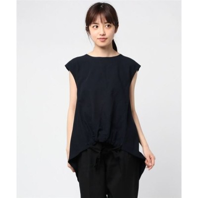 tシャツ Tシャツ 【SUPP】サップ ミラノリブ リボンノースリーブカットソー