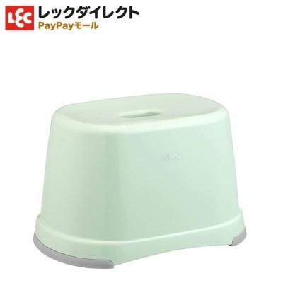 バスチェア 箱型 風呂いす【高さ21cm】 YUNOA (ユノア) ニュー グリーン 緑 黄緑抗菌 防カビ SIAA 銀イオン 清潔 バス小物