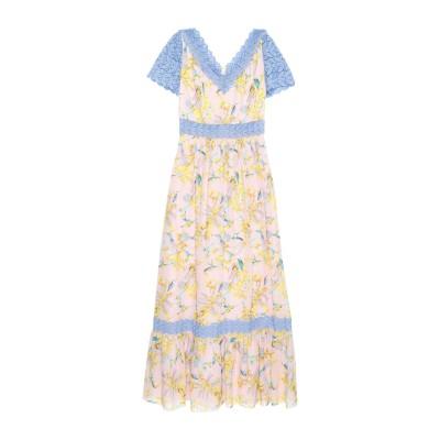 ジャンバ GIAMBA ロングワンピース&ドレス ライトピンク 40 シルク 100% / コットン / ポリエステル ロングワンピース&ドレス