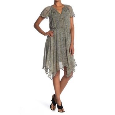 ヴェルヴェットバイグラハムスペンサー レディース ワンピース トップス Belen Printed Crepe Dress LEOPARD YW