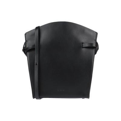 AESTHER EKME メッセンジャーバッグ ブラック 牛革(カーフ) メッセンジャーバッグ