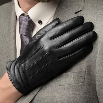 本革手袋 メンズ グローブ レザーグローブ レザー手袋    裏起毛    glove バイク手袋 バイクグローブ レーシンググローブ