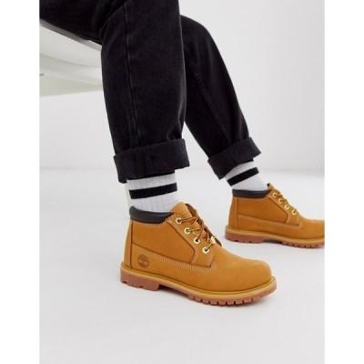 ティンバーランド レディース ブーツ・レインブーツ シューズ Timberland Nellie Chukka Wheat leather ankle boots