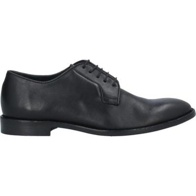 ポールスミス PS PAUL SMITH メンズ シューズ・靴 laced shoes Black