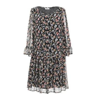 CLAUDIE PIERLOT ミニワンピース&ドレス ブラック 38 ポリエステル 100% ミニワンピース&ドレス