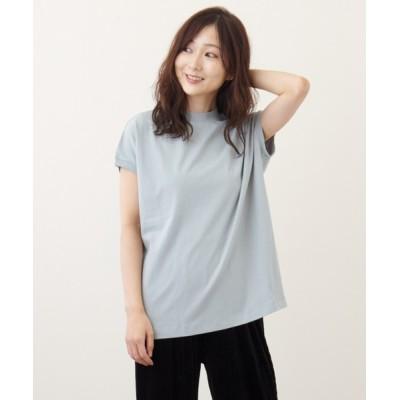 tシャツ Tシャツ 【WYTHE】モックネック Tシャツ FREEサイズ