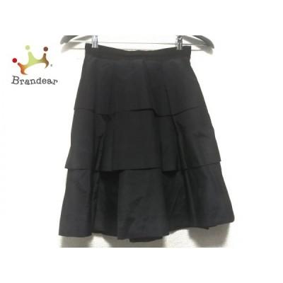 ジャスグリッティー JUSGLITTY スカート サイズ1 S レディース 美品 黒   スペシャル特価 20210215