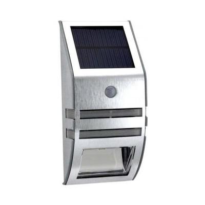 【シルバー 1個】 ZAZ 屋外 LED センサーライト 太陽光充電 ソーラー充電 玄関 ガーデンライト 防水 IPX4・・・
