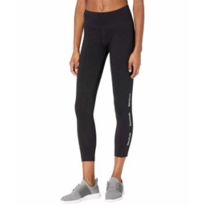 リーボック レディース カジュアルパンツ ボトムス Training Essentials Linear Logo Leggings Black/Black