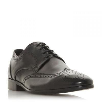 バーティ Bertie レディース ローファー・オックスフォード ウイングチップ ブローグ シューズ・靴 Syrinx Punched Wingtip Brogues Black