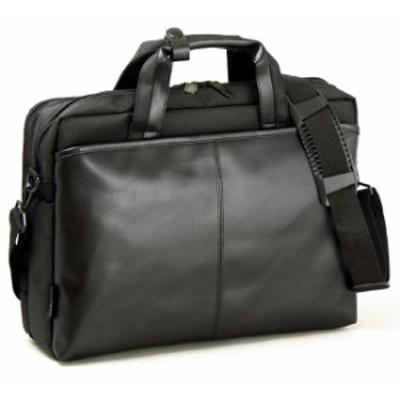 ブリーフケース メンズ B4ファイル 40cm 合皮 2室・2層・ダブルルーム ブリーフバッグ ビジネスバッグ 男性用 紳士用 鞄・バッ