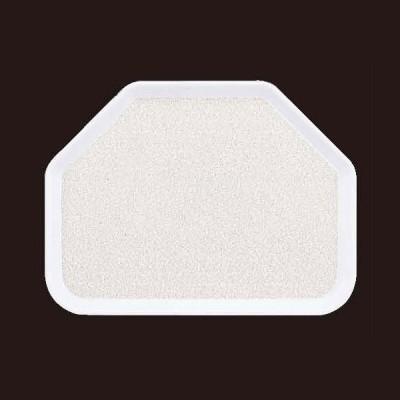 (業務用・変形)(SS-45N)六角盆 グレーモストNS(入数:5)