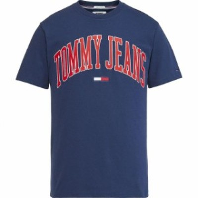 tommy-jeans トミー ジーンズ ファッション 男性用ウェア Tシャツ tommy-hilfiger collegiate-logo