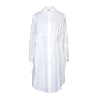 MM6 メゾン マルジェラ MM6 MAISON MARGIELA ミニワンピース&ドレス ホワイト 40 コットン 100% ミニワンピース&ドレス