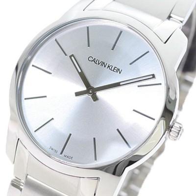 カルバンクライン CALVIN KLEIN 腕時計 メンズ K2G22146 CITY シティ クォーツ シルバー