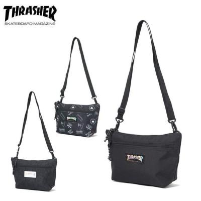 スラッシャー THRASHER  ショルダーバッグ メンズ レディース MINI SHOULDER BAG  THR-107