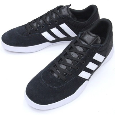 "【28.0cm/10.0"" シューズ スケートボード アディダス】Adidas City Cup Black/White/White"