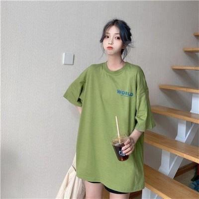 Tシャツ トップス 夏 ゆったり 大人 半袖 激安 着痩せ 体型カバー 大きいサイズ 夏物 安い 柄有り レディース なつのすずしいさ 個性的 パーカー うわぎ