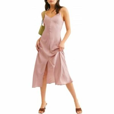 フリーピープル FREE PEOPLE レディース ワンピース マキシ丈 ワンピース・ドレス Smoke and Mirrors Maxi Slipdress Mauve Swoon