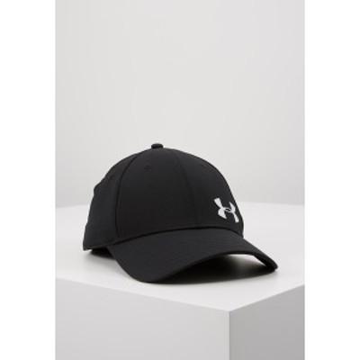 アンダーアーマー メンズ 帽子 アクセサリー MENS GOLF HEADLINE - Cap - black/white black/white