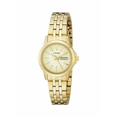 腕時計 シチズン 逆輸入 Citizen Women's Quartz Watch with Day/Date, EQ0603-59P