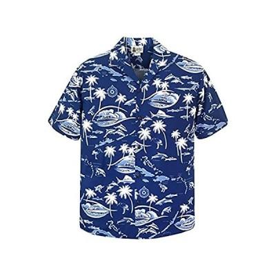 Aloha Republic SHIRT メンズ US サイズ: L カラー: ブルーインポート 送料無料