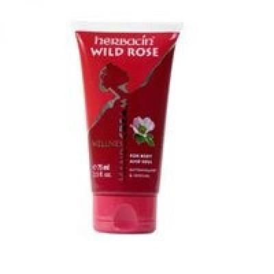 美容・コスメ ネイル ネイルケア Herbacin Hand Cream  Wild Rose 2.5oz by Herbacin (Pack of 2) 正規輸入品