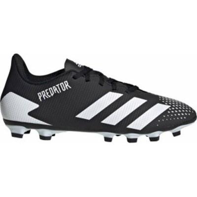 アディダス メンズ サッカーシューズ adidas Predator 20.4 FXG スパイク BLACK/WHITE