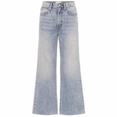 シルバーレーク Slvrlake レディース ジーンズ・デニム ボトムス・パンツ Grace high-rise wide-leg ankle jeans Crosby