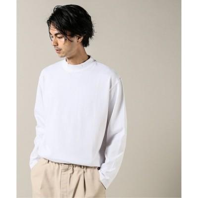 tシャツ Tシャツ 10/-テンジク モックネック L/S#