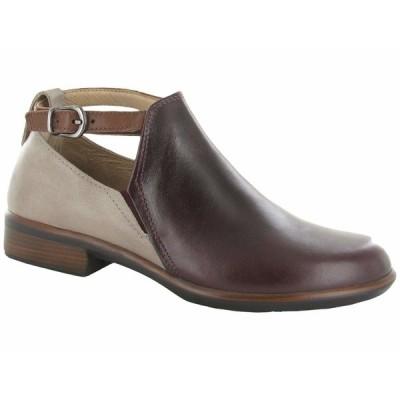 ナオト ブーツ&レインブーツ シューズ レディース Kamsin Bordeaux Leather/Soft Stone Nubuck/Soft Chestnut Leather
