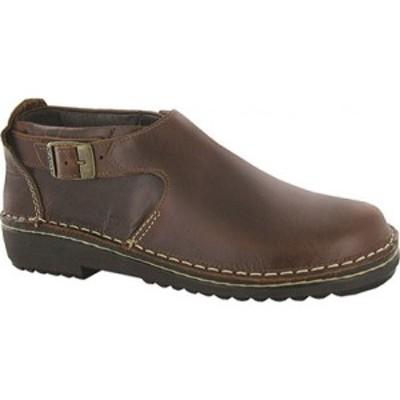 ナオト Naot レディース スリッポン・フラット シューズ・靴 Malta Buckled Slip-On Buffalo Leather