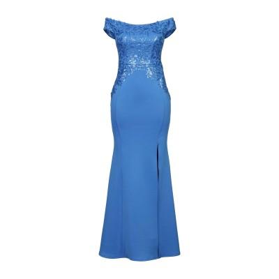 LIPSY ロングワンピース&ドレス ブルー 6 ポリエステル 95% / ポリウレタン 5% ロングワンピース&ドレス
