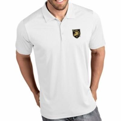 アンティグア Antigua メンズ ポロシャツ トップス Army West Point Black Knights Tribute Performance White Polo