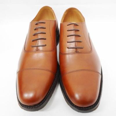 IDTs735071 ローク 靴 ARCHWAY M Mahogany Calf Leater マホガニー #7 1/2G(約26cm)レザー メンズ Loake 未使用【質みなみ・到津店】
