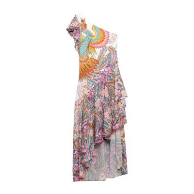 GIL SANTUCCI 7分丈ワンピース・ドレス ホワイト 42 ポリエステル 100% 7分丈ワンピース・ドレス