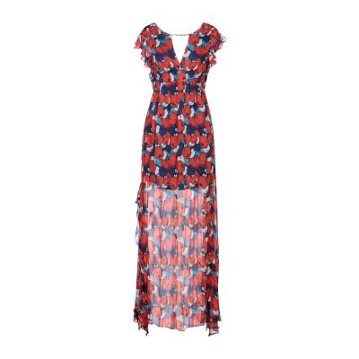 ピンコ PINKO ミニワンピース&ドレス ダークブルー 42 レーヨン 100% / ガラス ミニワンピース&ドレス