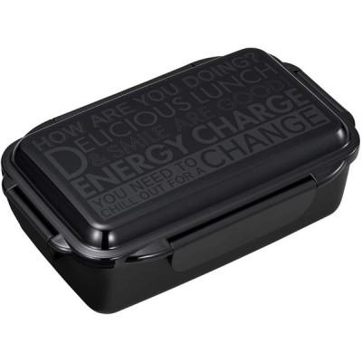 OSK 弁当箱 ブラック 900ml エナジーチャージ No.2 ランチボックス 日本製 PCD-900