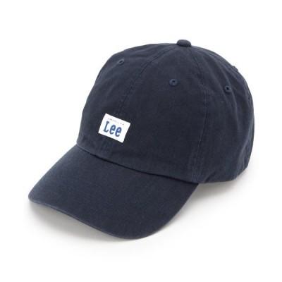 帽子 キャップ LEE(R) ロゴキャップ