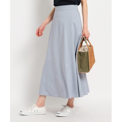 Dessin(Ladies)(デッサン(レディース)) 【XS~L/後ろゴム】ウェザーストレッチAラインスカート
