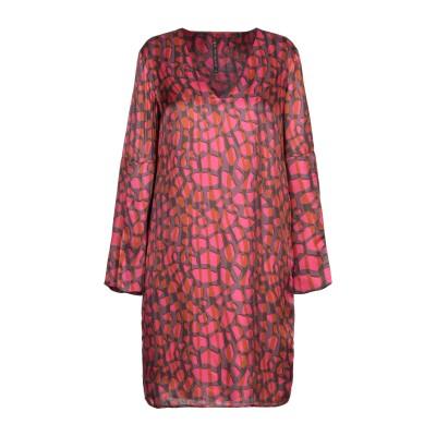 マニラ グレース MANILA GRACE ミニワンピース&ドレス フューシャ 44 レーヨン 65% / シルク 35% ミニワンピース&ドレス