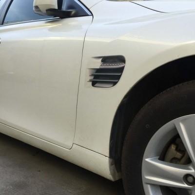 全国送料無料 カー用品 ステッカー 3dオートカー車両3d偽側通気孔出口装飾車ステッカーデカールシンボル車stlyling装飾ステッカー