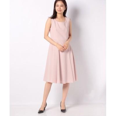 (MISS J/ミス ジェイ)【洗える】ドビークロス ドレス/レディース ピンク