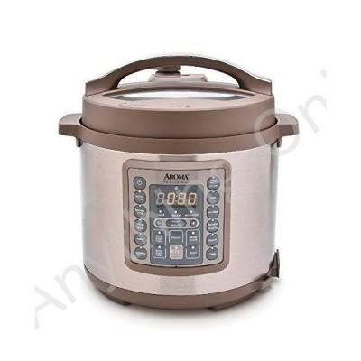 【新品】Aroma Housewares Professional MTC-8016 Digital Pressure Cooker, 6 quart, Brown