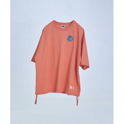 【別注】Russell/ラッセル ドローコード 半袖Tシャツ