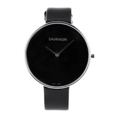 カルバン クライン CALVIN KLEIN 腕時計 ブラック ステンレススチール / 革 腕時計
